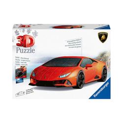 Ravensburger 3D-Puzzle 3D-Puzzle Lamborghini Huracan Evo, 108 Teile, Puzzleteile