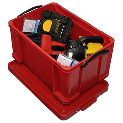 Really Useful Box Aufbewahrungsbox 48,0 l rot 60,0 x 40,0 x 31,5 cm