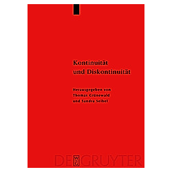 Kontinuität und Diskontinuität - Buch