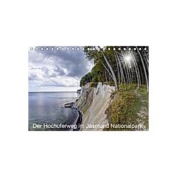 Der Hochuferweg im Jasmund Nationalpark (Tischkalender 2021 DIN A5 quer)