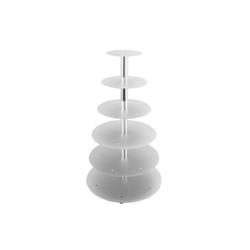 Schneider Etagen-Tortenständer 6-Etagen silber 146006
