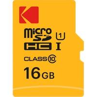 Kodak microSDHC 16GB Class 10 85MB/s UHS-I + SD-Adapter