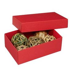 3 BUNTBOX M Geschenkboxen 1,1 l rot 17,0 x 11,0 x 6,0 cm