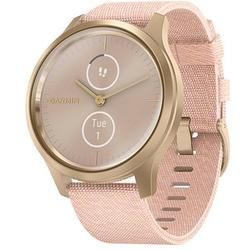 GARMIN vivomove Style Smartwatch rosa, weißgold