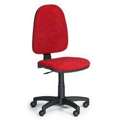 Bürostuhl torino ohne armlehnen, rot