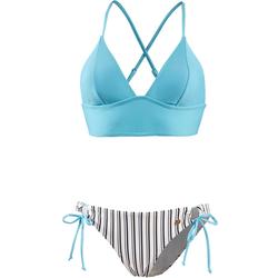 Maui Wowie Bikini Set Damen in hellblau, Größe 34 hellblau 34
