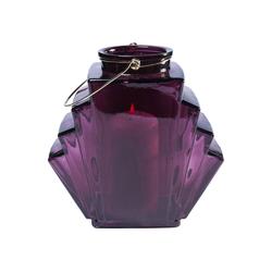 KARE Kerzenständer Windlicht Noble Wire Violett 12cm lila