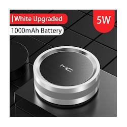 Mini Bluetooth Speaker Subwoofer (Silver)