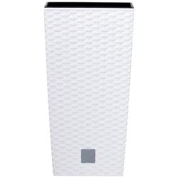 Prosperplast Blumentopf Rato Square 2er Set (2 Stück), 20x20x42 cm