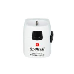 SKROSS World Adapter Pro Light 3-polig (6.3A) Reiseadapter