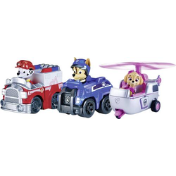 Spin Master - Paw Patrol Rescue Racers 3, Rescue Marshall, Spy Chase und Skye