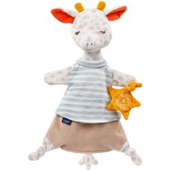 Fehn Handpuppe Giraffe, mit Glow-in-the-dark-Bestickung