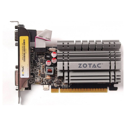 Zotac GeForce GT 730 4 GB DDR3 - Grafikkarte - grau Grafikkarte