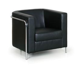 Sessel cube, schwarz