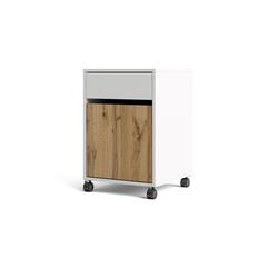 ebuy24 Kommode Plus Büro Aufbewahrung auf Rädern mit 1 Schublade