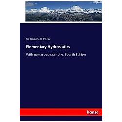 Elementary Hydrostatics. John Budd Phear  - Buch