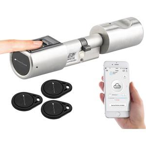 Elektronischer Tür-Schließzylinder, Fingerabdruck-Scanner, Transponder