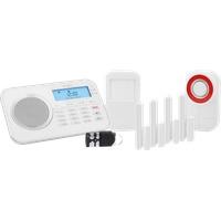 Protect 9878 GSM Haus Alarmanlage Funk Alarmsystem mit Außensierene und App