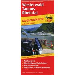 Westerwald - Taunus - Rheintal 1:200 000