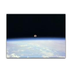 Bilderdepot24 Leinwandbild, Leinwandbild - Weltraum 80 cm x 60 cm
