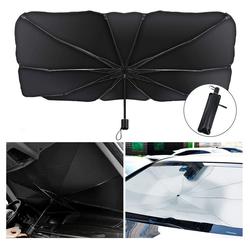 kueatily Windschutz Car Sunshade für die Windschutzscheibe 145 cm