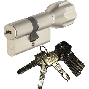 ABUS EC550 Profil-Knaufzylinder Länge Z40/K35mm mit 8 Schlüssel