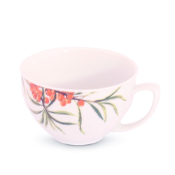 Friesland Porzellan Tasse Friesland Teetasse 0,19l Venice Sanddorn Porzellan (1-tlg), Made in Germany