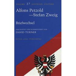 Alfons Petzold - Stefan Zweig als Buch von Alfons Petzold/ Stefan Zweig
