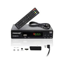 PremiumX HD 520SE FTA Digital Satelliten-Receiver DVB-S2 HDMI SCART USB FullHD SAT-Receiver