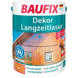 Baufix Holzschutzlasur Teak, 5 Liter, braun