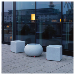 Moree LED Gartenleuchte Granite Cube Outdoor