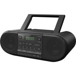 Panasonic RX-D552E-K CD- Boombox (FM-Tuner, Digitalradio (DAB), UKW mit RDS, 20 W)