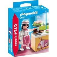 Playmobil Special Plus Konditorin mit Kuchentheke (9097)