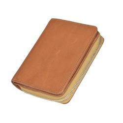 Sonnenleder Geldbörse Sinn, Herrenbörse, Portemonnaie, 6 Kartenfächer, sehr edel beige