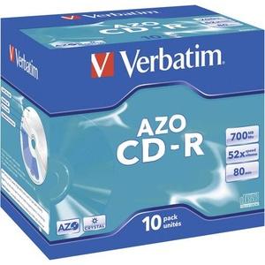 Verbatim 43327 CD-R 80 Rohling 700 MB 10 St. Jewelcase
