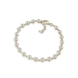 Elli Premium Armband Swarovski® Kristalle 925 Sterling Silber, Kristall Armband