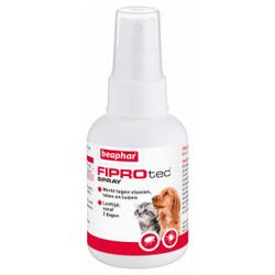 Beaphar FiproTec spray 100 ml Anti-Vlo hond & kat  2 x 100 ml