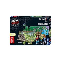 Krimi Puzzle Die drei ??? Kids  T-Rex in Action (Kinderpuzzle)