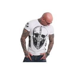 YAKUZA T-Shirt Gaucho weiß 3XL