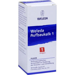 WELEDA Aufbaukalk 1 Pulver 45 g