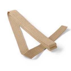 PRYM Gurtband für Taschen, 30mm, beige, 3m, 100% Baumwolle, Bänder & Borten, Gurtbänder