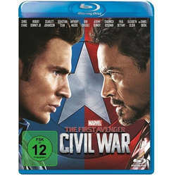 Disney Bluray The First Avenger Civil War