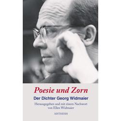 Poesie und Zorn als Buch von Georg Widmaier