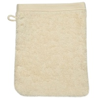 Waschhandschuh 16 x 22 cm sand