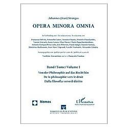Opera Minora Omnia - Buch