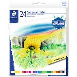 Soft-Pastellkreiden, 24 Farben