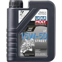 Liqui Moly MOTORBIKE 4T 15W-50 Street 1689 Motoröl 4l