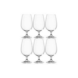 montana-Glas Glas Wasserglas 420ml, 6er Set first, Kristallglas