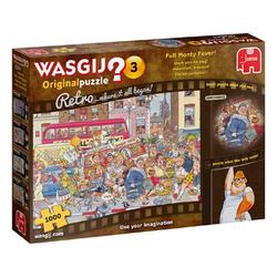 Jumbo Spiele Puzzle 19167 Wasgij Original 3 Retro Freikörperkultur!, 1000 Puzzleteile