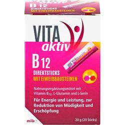 VITA AKTIV B12 Direktsticks mit Eiweißbausteinen 20 St.